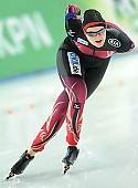 Subject: Jennifer Bay; Tags: Athlet, Athlete, Sportler, Wettkämpfer, Sportsman, Damen, Ladies, Frau, Mesdames, Female, Women, Eisschnelllauf, Speed skating, Schaatsen, GER, Germany, Deutschland, Jennifer Bay, Sport; PhotoID: 2014-12-05-0200