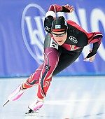 Subject: Jennifer Plate; Tags: Athlet, Athlete, Sportler, Wettkämpfer, Sportsman, Damen, Ladies, Frau, Mesdames, Female, Women, Eisschnelllauf, Speed skating, Schaatsen, GER, Germany, Deutschland, Jennifer Plate, Sport; PhotoID: 2014-12-05-0648