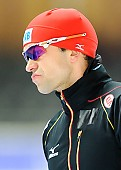 Subject: Samuel Schwarz; Tags: Athlet, Athlete, Sportler, Wettkämpfer, Sportsman, Eisschnelllauf, Speed skating, Schaatsen, GER, Germany, Deutschland, Herren, Men, Gentlemen, Mann, Männer, Gents, Sirs, Mister, Samuel Schwarz, Sport; PhotoID: 2014-12-05-1014