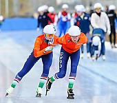 Subject: Sanneke de Neeling; Tags: Sport, Mass Start, Eisschnelllauf, Speed skating, Schaatsen, Detail; PhotoID: 2015-01-18-0938