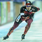 Subject: Samuel Schwarz; Tags: Athlet, Athlete, Sportler, Wettkämpfer, Sportsman, Eisschnelllauf, Speed skating, Schaatsen, GER, Germany, Deutschland, Herren, Men, Gentlemen, Mann, Männer, Gents, Sirs, Mister, Samuel Schwarz, Sport; PhotoID: 2015-02-14-0547