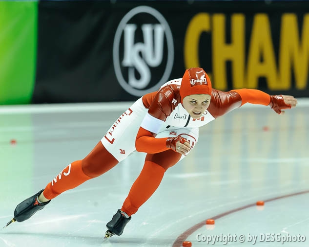 Marsha Hudey; Tags: Athlet, Athlete, Sportler, Wettkämpfer, Sportsman, CAN, Canada, Kanada, Damen, Ladies, Frau, Mesdames, Female, Women, Eisschnelllauf, Speed skating, Schaatsen, Marsha Hudey, Sport; PhotoID: 2015-02-14-0580