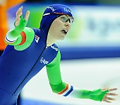Subject: Floor van den Brandt; Tags: Athlet, Athlete, Sportler, Wettkämpfer, Sportsman, Damen, Ladies, Frau, Mesdames, Female, Women, Eisschnelllauf, Speed skating, Schaatsen, Floor van den Brandt, NED, Netherlands, Niederlande, Holland, Dutch, Sport; PhotoID: 2015-02-14-0596