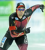 Subject: Samuel Schwarz; Tags: Athlet, Athlete, Sportler, Wettkämpfer, Sportsman, Eisschnelllauf, Speed skating, Schaatsen, GER, Germany, Deutschland, Herren, Men, Gentlemen, Mann, Männer, Gents, Sirs, Mister, Samuel Schwarz, Sport; PhotoID: 2015-02-15-0041