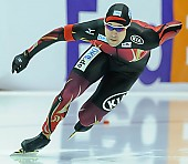 Subject: Samuel Schwarz; Tags: Athlet, Athlete, Sportler, Wettkämpfer, Sportsman, Eisschnelllauf, Speed skating, Schaatsen, GER, Germany, Deutschland, Herren, Men, Gentlemen, Mann, Männer, Gents, Sirs, Mister, Samuel Schwarz, Sport; PhotoID: 2015-02-15-0043