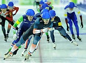 Subject: Alexis Contin, Arjan Stroetinga; Tags: Alexis Contin, Arjan Stroetinga, Athlet, Athlete, Sportler, Wettkämpfer, Sportsman, Detail, Eisschnelllauf, Speed skating, Schaatsen, FRA, France, Frankreich, Herren, Men, Gentlemen, Mann, Männer, Gents, Sirs, Mister, Mass Start, NED, Netherlands, Niederlande, Holland, Dutch, Sport; PhotoID: 2015-02-15-0604
