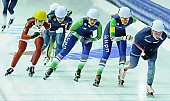 Subject: Francesca Lollobrigida, Irene Schouten, Ivanie Blondin, Mariska Huisman; Tags: Athlet, Athlete, Sportler, Wettkämpfer, Sportsman, CAN, Canada, Kanada, Damen, Ladies, Frau, Mesdames, Female, Women, Detail, Eisschnelllauf, Speed skating, Schaatsen, Francesca Lollobrigida, ITA, Italy, Italien, Irene Schouten, Ivanie Blondin, Mariska Huisman, Mass Start, NED, Netherlands, Niederlande, Holland, Dutch, Sport; PhotoID: 2015-02-15-0691