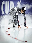 Subject: Hyeong-Joon Joo; Tags: Athlet, Athlete, Sportler, Wettkämpfer, Sportsman, Detail, Eisschnelllauf, Speed skating, Schaatsen, Herren, Men, Gentlemen, Mann, Männer, Gents, Sirs, Mister, Hyeong-Joon Joo, KOR, South Korea, Südkorea, Sport, Sturz, Fall, Hinfallen, Stürzen, Downfall; PhotoID: 2015-12-06-0600