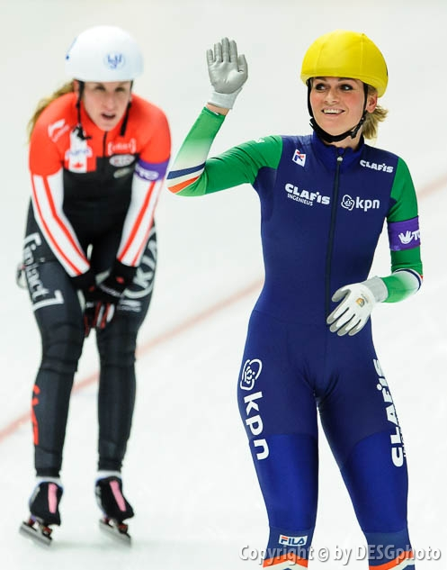 Irene Schouten; Tags: Athlet, Athlete, Sportler, Wettkämpfer, Sportsman, Damen, Ladies, Frau, Mesdames, Female, Women, Detail, Eisschnelllauf, Speed skating, Schaatsen, Irene Schouten, Mass Start, NED, Netherlands, Niederlande, Holland, Dutch, Sport; PhotoID: 2015-12-06-0906