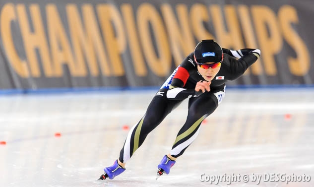 Miho Takagi; Tags: Sport, Miho Takagi, JPN, Japan, Nippon, Eisschnelllauf, Speed skating, Schaatsen, Damen, Ladies, Frau, Mesdames, Female, Women, Athlet, Athlete, Sportler, Wettkämpfer, Sportsman; PhotoID: 2016-03-05-0295