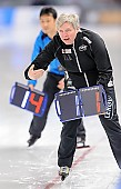 Subject: Edel Therese Høiseth; Tags: Edel Therese Høiseth, Eisschnelllauf, Speed skating, Schaatsen, NOR, Norway, Norwegen, Sport, Trainer, Coach, Betreuer; PhotoID: 2016-03-05-0364