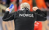 Subject: Edel Therese Høiseth; Tags: Edel Therese Høiseth, Eisschnelllauf, Speed skating, Schaatsen, NOR, Norway, Norwegen, Sport, Trainer, Coach, Betreuer; PhotoID: 2016-03-05-0503