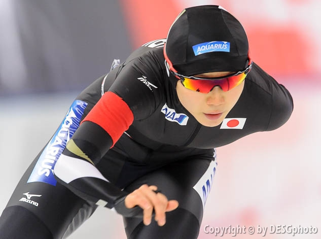 Miho Takagi; Tags: Athlet, Athlete, Sportler, Wettkämpfer, Sportsman, Damen, Ladies, Frau, Mesdames, Female, Women, Eisschnelllauf, Speed skating, Schaatsen, JPN, Japan, Nippon, Miho Takagi, Sport; PhotoID: 2016-03-05-0609