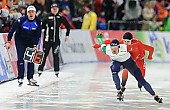 Subject: Andrea Giovannini, Simen Spieler Nilsen; Tags: Andrea Giovannini, Athlet, Athlete, Sportler, Wettkämpfer, Sportsman, Eisschnelllauf, Speed skating, Schaatsen, Herren, Men, Gentlemen, Mann, Männer, Gents, Sirs, Mister, ITA, Italy, Italien, NOR, Norway, Norwegen, Simen Spieler Nilsen, Sport; PhotoID: 2016-03-06-0082
