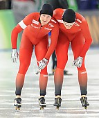 Subject: Håvard Bøkko, Sverre Lunde Pedersen; Tags: Athlet, Athlete, Sportler, Wettkämpfer, Sportsman, Eisschnelllauf, Speed skating, Schaatsen, Herren, Men, Gentlemen, Mann, Männer, Gents, Sirs, Mister, Håvard Bøkko, NOR, Norway, Norwegen, Sport, Sverre Lunde Pedersen; PhotoID: 2016-03-06-0104
