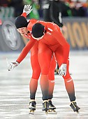 Subject: Håvard Bøkko, Sverre Lunde Pedersen; Tags: Athlet, Athlete, Sportler, Wettkämpfer, Sportsman, Eisschnelllauf, Speed skating, Schaatsen, Herren, Men, Gentlemen, Mann, Männer, Gents, Sirs, Mister, Håvard Bøkko, NOR, Norway, Norwegen, Sport, Sverre Lunde Pedersen; PhotoID: 2016-03-06-0106