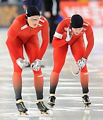 Subject: Håvard Bøkko, Sverre Lunde Pedersen; Tags: Athlet, Athlete, Sportler, Wettkämpfer, Sportsman, Eisschnelllauf, Speed skating, Schaatsen, Herren, Men, Gentlemen, Mann, Männer, Gents, Sirs, Mister, Håvard Bøkko, NOR, Norway, Norwegen, Sport, Sverre Lunde Pedersen; PhotoID: 2016-03-06-0111
