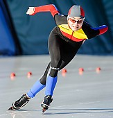 Subject: Noemi Melinda Siko; Tags: Athlet, Athlete, Sportler, Wettkämpfer, Sportsman, Damen, Ladies, Frau, Mesdames, Female, Women, Eisschnelllauf, Speed skating, Schaatsen, Noemi Melinda Siko, ROU, Romania, Rumänien, Sport; PhotoID: 2017-01-21-0019
