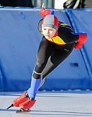 Subject: Mihaela Hogas; Tags: Athlet, Athlete, Sportler, Wettkämpfer, Sportsman, Damen, Ladies, Frau, Mesdames, Female, Women, Eisschnelllauf, Speed skating, Schaatsen, Mihaela Hogas, ROU, Romania, Rumänien, Sport; PhotoID: 2017-01-21-0042