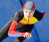 Subject: Mihaela Hogas; Tags: Athlet, Athlete, Sportler, Wettkämpfer, Sportsman, Damen, Ladies, Frau, Mesdames, Female, Women, Eisschnelllauf, Speed skating, Schaatsen, Mihaela Hogas, ROU, Romania, Rumänien, Sport; PhotoID: 2017-01-21-0043