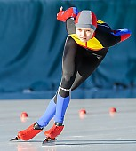 Subject: Mihaela Hogas; Tags: Athlet, Athlete, Sportler, Wettkämpfer, Sportsman, Damen, Ladies, Frau, Mesdames, Female, Women, Eisschnelllauf, Speed skating, Schaatsen, Mihaela Hogas, ROU, Romania, Rumänien, Sport; PhotoID: 2017-01-21-0044