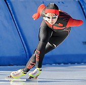 Subject: Huawei Li; Tags: Athlet, Athlete, Sportler, Wettkämpfer, Sportsman, CHN, China, Volksrepublik China, Damen, Ladies, Frau, Mesdames, Female, Women, Eisschnelllauf, Speed skating, Schaatsen, Huawei Li, Sport; PhotoID: 2017-01-21-0070