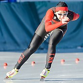 Subject: Huawei Li; Tags: Athlet, Athlete, Sportler, Wettkämpfer, Sportsman, CHN, China, Volksrepublik China, Damen, Ladies, Frau, Mesdames, Female, Women, Eisschnelllauf, Speed skating, Schaatsen, Huawei Li, Sport; PhotoID: 2017-01-21-0075