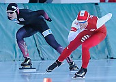 Subject: Andżelika Wójcik; Tags: Andżelika Wójcik, Athlet, Athlete, Sportler, Wettkämpfer, Sportsman, Damen, Ladies, Frau, Mesdames, Female, Women, Eisschnelllauf, Speed skating, Schaatsen, POL, Poland, Polen, Sport; PhotoID: 2017-01-21-0369