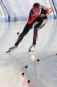 Subject: Mei Han; Tags: Athlet, Athlete, Sportler, Wettkämpfer, Sportsman, CHN, China, Volksrepublik China, Damen, Ladies, Frau, Mesdames, Female, Women, Eisschnelllauf, Speed skating, Schaatsen, Mei Han, Sport; PhotoID: 2017-01-21-0494