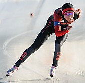Subject: Mei Han; Tags: Athlet, Athlete, Sportler, Wettkämpfer, Sportsman, CHN, China, Volksrepublik China, Damen, Ladies, Frau, Mesdames, Female, Women, Eisschnelllauf, Speed skating, Schaatsen, Mei Han, Sport; PhotoID: 2017-01-21-0495