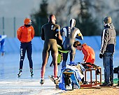 Subject: Hyeon-Min Oh, Magnus Bakken Haugli, Paul Galczinsky; Tags: Athlet, Athlete, Sportler, Wettkämpfer, Sportsman, Eisschnelllauf, Speed skating, Schaatsen, GER, Germany, Deutschland, Herren, Men, Gentlemen, Mann, Männer, Gents, Sirs, Mister, Hyeon-Min Oh, KOR, South Korea, Südkorea, Magnus Bakken Haugli, NOR, Norway, Norwegen, Paul Galczinsky, Sport; PhotoID: 2017-01-21-0734