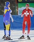 Subject: Ida Hallberg, Severine Biermann; Tags: Athlet, Athlete, Sportler, Wettkämpfer, Sportsman, Damen, Ladies, Frau, Mesdames, Female, Women, Eisschnelllauf, Speed skating, Schaatsen, Ida Hallberg, SUI, Bulgaria, Bulgarien, SWE, Sweden, Schweden, Severine Biermann, Sport; PhotoID: 2017-01-22-0388