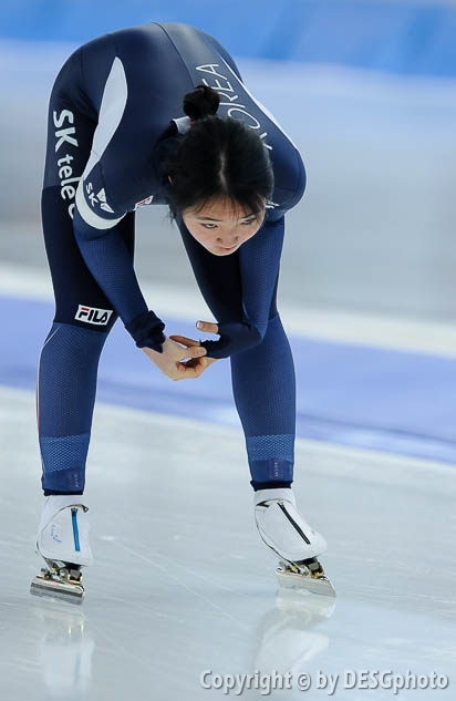 Min-Ji Kim; Tags: Sport, Min-Ji Kim, KOR, South Korea, Südkorea, Eisschnelllauf, Speed skating, Schaatsen, Damen, Ladies, Frau, Mesdames, Female, Women, Athlet, Athlete, Sportler, Wettkämpfer, Sportsman; PhotoID: 2017-01-27-0212