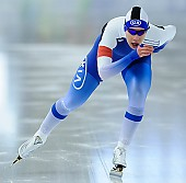 Subject: Elina Risku; Tags: Sport, FIN, Finland, Finnland, Elina Risku, Eisschnelllauf, Speed skating, Schaatsen, Damen, Ladies, Frau, Mesdames, Female, Women, Athlet, Athlete, Sportler, Wettkämpfer, Sportsman; PhotoID: 2017-01-27-0258