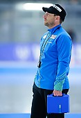 Subject: Danny Leger; Tags: Trainer, Coach, Betreuer, Sport, GER, Germany, Deutschland, Eisschnelllauf, Speed skating, Schaatsen, Danny Leger; PhotoID: 2017-01-27-0446