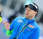 Subject: Danny Leger; Tags: Trainer, Coach, Betreuer, Sport, GER, Germany, Deutschland, Eisschnelllauf, Speed skating, Schaatsen, Danny Leger; PhotoID: 2017-01-27-0458