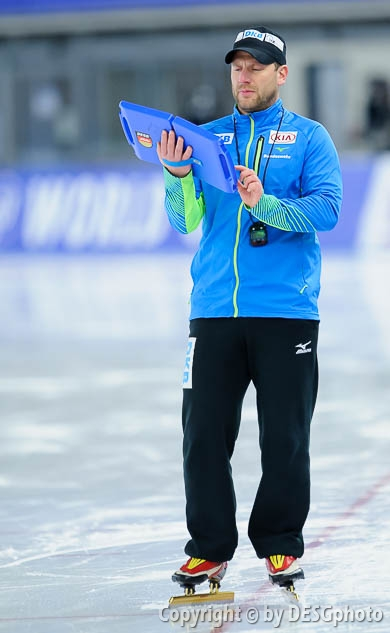 Danny Leger; Tags: Trainer, Coach, Betreuer, Sport, GER, Germany, Deutschland, Eisschnelllauf, Speed skating, Schaatsen, Danny Leger; PhotoID: 2017-01-27-0597