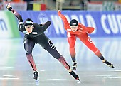 Subject: Ida Njåtun, Roxanne Dufter; Tags: Sport, Roxanne Dufter, NOR, Norway, Norwegen, Ida Njåtun, GER, Germany, Deutschland, Eisschnelllauf, Speed skating, Schaatsen, Damen, Ladies, Frau, Mesdames, Female, Women, Athlet, Athlete, Sportler, Wettkämpfer, Sportsman; PhotoID: 2017-01-27-0879