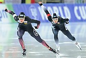 Subject: Erina Kamiya, Gabriele Hirschbichler; Tags: Sport, JPN, Japan, Nippon, Gabriele Hirschbichler, GER, Germany, Deutschland, Erina Kamiya, Eisschnelllauf, Speed skating, Schaatsen, Damen, Ladies, Frau, Mesdames, Female, Women, Athlet, Athlete, Sportler, Wettkämpfer, Sportsman; PhotoID: 2017-01-27-0912