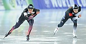 Subject: Erina Kamiya, Gabriele Hirschbichler; Tags: Sport, JPN, Japan, Nippon, Gabriele Hirschbichler, GER, Germany, Deutschland, Erina Kamiya, Eisschnelllauf, Speed skating, Schaatsen, Damen, Ladies, Frau, Mesdames, Female, Women, Athlet, Athlete, Sportler, Wettkämpfer, Sportsman; PhotoID: 2017-01-27-0913