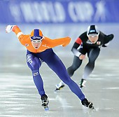 Subject: Marrit Leenstra; Tags: Sport, NED, Netherlands, Niederlande, Holland, Dutch, Marrit Leenstra, Eisschnelllauf, Speed skating, Schaatsen, Damen, Ladies, Frau, Mesdames, Female, Women, Athlet, Athlete, Sportler, Wettkämpfer, Sportsman; PhotoID: 2017-01-27-0950