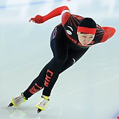 Subject: Huawei Li; Tags: Sport, Huawei Li, Eisschnelllauf, Speed skating, Schaatsen, Damen, Ladies, Frau, Mesdames, Female, Women, CHN, China, Volksrepublik China, Athlet, Athlete, Sportler, Wettkämpfer, Sportsman; PhotoID: 2017-01-28-0040