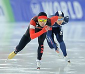 Subject: Jae-Woong Jeong, Yanan Jin; Tags: Yanan Jin, Sport, KOR, South Korea, Südkorea, Jae Woong Chung, Herren, Men, Gentlemen, Mann, Männer, Gents, Sirs, Mister, Eisschnelllauf, Speed skating, Schaatsen, CHN, China, Volksrepublik China, Athlet, Athlete, Sportler, Wettkämpfer, Sportsman; PhotoID: 2017-01-28-0075