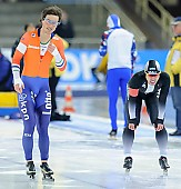 Subject: Jan Smeekens, Ryohei Haga; Tags: Sport, Ryohei Haga, NED, Netherlands, Niederlande, Holland, Dutch, Jan Smeekens, JPN, Japan, Nippon, Herren, Men, Gentlemen, Mann, Männer, Gents, Sirs, Mister, Eisschnelllauf, Speed skating, Schaatsen, Athlet, Athlete, Sportler, Wettkämpfer, Sportsman; PhotoID: 2017-01-28-0098