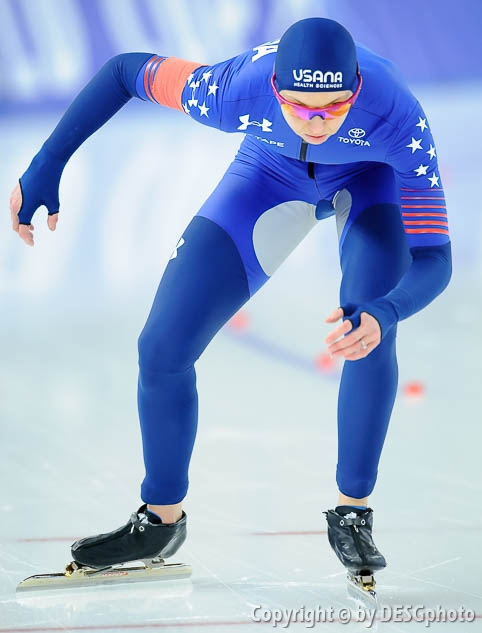 Rebekah Bradford-Plath; Tags: USA, United States, Vereinigte Staaten von Amerika, Sport, Rebekah Bradford, Eisschnelllauf, Speed skating, Schaatsen, Damen, Ladies, Frau, Mesdames, Female, Women, Athlet, Athlete, Sportler, Wettkämpfer, Sportsman; PhotoID: 2017-01-28-0258