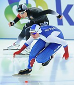 Subject: Erina Kamiya, Olga Fatkulina; Tags: Sport, RUS, Russian Federation, Russische Föderation, Russia, Olga Fatkulina, JPN, Japan, Nippon, Erina Kamiya, Eisschnelllauf, Speed skating, Schaatsen, Damen, Ladies, Frau, Mesdames, Female, Women, Athlet, Athlete, Sportler, Wettkämpfer, Sportsman; PhotoID: 2017-01-28-0512
