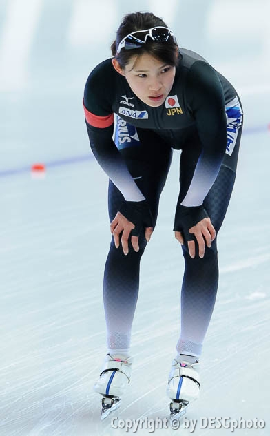 Erina Kamiya; Tags: Sport, JPN, Japan, Nippon, Erina Kamiya, Eisschnelllauf, Speed skating, Schaatsen, Damen, Ladies, Frau, Mesdames, Female, Women, Athlet, Athlete, Sportler, Wettkämpfer, Sportsman; PhotoID: 2017-01-28-0516