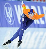 Subject: Marrit Leenstra; Tags: Sport, NED, Netherlands, Niederlande, Holland, Dutch, Marrit Leenstra, Eisschnelllauf, Speed skating, Schaatsen, Damen, Ladies, Frau, Mesdames, Female, Women, Athlet, Athlete, Sportler, Wettkämpfer, Sportsman; PhotoID: 2017-01-28-0935