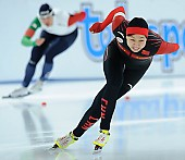 Subject: Huawei Li; Tags: Sport, Huawei Li, Eisschnelllauf, Speed skating, Schaatsen, Damen, Ladies, Frau, Mesdames, Female, Women, CHN, China, Volksrepublik China, Athlet, Athlete, Sportler, Wettkämpfer, Sportsman; PhotoID: 2017-01-29-0092