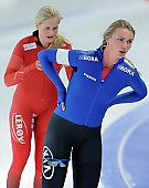 Subject: Camilla Lund, Saskia Alusalu; Tags: Sport, Saskia Alusalu, NOR, Norway, Norwegen, Eisschnelllauf, Speed skating, Schaatsen, EST, Estonia, Estland, Damen, Ladies, Frau, Mesdames, Female, Women, Camilla Lund, Athlet, Athlete, Sportler, Wettkämpfer, Sportsman; PhotoID: 2017-01-29-0278